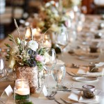 Mixed Floral Rustic Tablescape