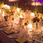 Candlelight Reception Tablescape