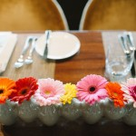 Gerbera Daisy Table Arrangement