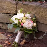 Hand Tied Ribbon Wrapped Mixed Rose Bouquet