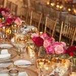 Tablescape Rose and Gold Wedding