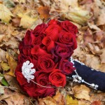 Beautiful Red Rose Bouquet With Bling