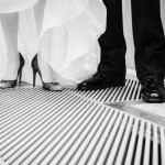 Bride and Groom Shoe Details
