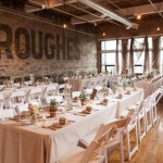 Warehouse or Industrial Themed Wedding Reception