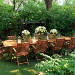Beautiful Backyard Wedding Reception