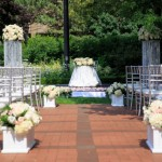 Elegant Outdoor Wedding Ceremony Decor