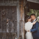 Couple and Vintage Barn